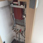 Installation of Worcester Bosch 32cdi Compact Gas Combination Condensing Boiler