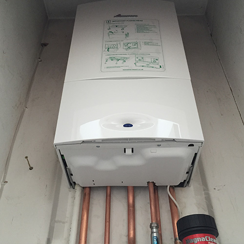 Installation of Worcester Greenstar 25i Gas Combi Boiler ERP