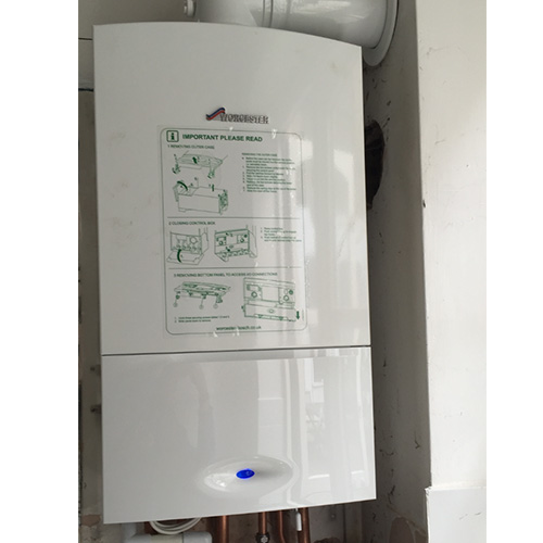 Installation of Worcester Greenstar 25si Compact Gas Combi Boiler